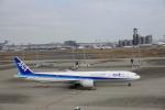 トレインさんが、羽田空港で撮影した全日空 777-381/ERの航空フォト(飛行機 写真・画像)