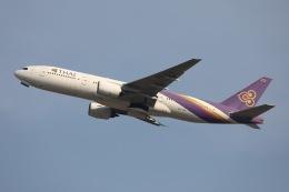 sky-spotterさんが、スワンナプーム国際空港で撮影したタイ国際航空 777-2D7の航空フォト(飛行機 写真・画像)