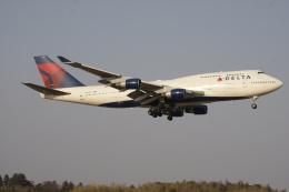 航空フォト:N668US デルタ航空 747-400