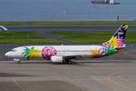 Scotchさんが、羽田空港で撮影したスカイネットアジア航空 737-4M0の航空フォト(飛行機 写真・画像)
