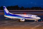マツさんが、鹿児島空港で撮影した全日空 737-54Kの航空フォト(飛行機 写真・画像)