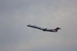 meijeanさんが、中部国際空港で撮影したアイベックスエアラインズ CL-600-2C10 Regional Jet CRJ-702の航空フォト(飛行機 写真・画像)