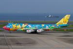 Scotchさんが、羽田空港で撮影した全日空 747-481(D)の航空フォト(写真)
