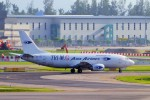ちっとろむさんが、シンガポール・チャンギ国際空港で撮影したトライエムジー イントラ アジア エアラインズ 737-301(SF)の航空フォト(飛行機 写真・画像)