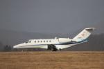Tomochanさんが、函館空港で撮影したアルペン 525A Citation CJ2の航空フォト(飛行機 写真・画像)