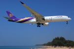 TIA spotterさんが、プーケット国際空港で撮影したタイ国際航空 A350-941XWBの航空フォト(飛行機 写真・画像)