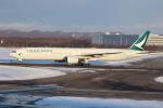 クロマティさんが、新千歳空港で撮影したキャセイパシフィック航空 777-367の航空フォト(飛行機 写真・画像)