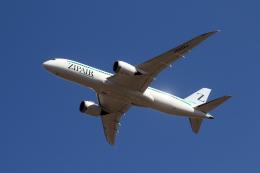 アオアシシギさんが、成田国際空港で撮影したZIPAIR 787-8 Dreamlinerの航空フォト(飛行機 写真・画像)