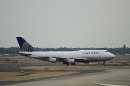 K.Tさんが、成田国際空港で撮影したユナイテッド航空 747-422の航空フォト(飛行機 写真・画像)