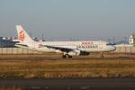 神宮寺ももさんが、徳島空港で撮影したキャセイドラゴン A320-232の航空フォト(飛行機 写真・画像)