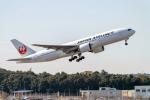 こうきさんが、成田国際空港で撮影した日本航空 777-246/ERの航空フォト(飛行機 写真・画像)