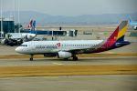 まいけるさんが、仁川国際空港で撮影したアシアナ航空 A320-232の航空フォト(飛行機 写真・画像)