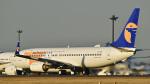 パンダさんが、成田国際空港で撮影したMIATモンゴル航空 737-8ALの航空フォト(飛行機 写真・画像)