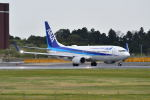 ポン太さんが、成田国際空港で撮影した全日空 737-881の航空フォト(飛行機 写真・画像)