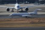 09RJNH27さんが、羽田空港で撮影した日本個人所有 BD-700-1A10 Global 6000の航空フォト(飛行機 写真・画像)
