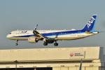 パンダさんが、成田国際空港で撮影した全日空 A321-272Nの航空フォト(飛行機 写真・画像)