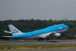 ☆ライダーさんが、成田国際空港で撮影したKLMオランダ航空 747-406Mの航空フォト(飛行機 写真・画像)