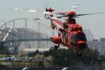 banshee02さんが、東京ヘリポートで撮影した東京消防庁航空隊 EC225LP Super Puma Mk2+の航空フォト(飛行機 写真・画像)