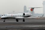 banshee02さんが、羽田空港で撮影した中国企業所有 G-IV-X Gulfstream G450の航空フォト(飛行機 写真・画像)