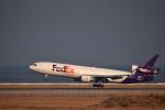 we love kixさんが、関西国際空港で撮影したフェデックス・エクスプレス MD-11Fの航空フォト(飛行機 写真・画像)