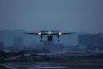 つっさんさんが、伊丹空港で撮影したANAウイングス DHC-8-402Q Dash 8の航空フォト(飛行機 写真・画像)