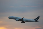 meijeanさんが、中部国際空港で撮影したキャセイパシフィック航空 A350-941XWBの航空フォト(飛行機 写真・画像)