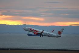 meijeanさんが、中部国際空港で撮影したタイ・ライオン・エア 737-8GPの航空フォト(飛行機 写真・画像)