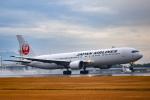 マツさんが、鹿児島空港で撮影した日本航空 767-346/ERの航空フォト(飛行機 写真・画像)