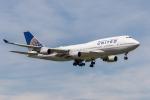 Y-Kenzoさんが、成田国際空港で撮影したユナイテッド航空 747-422の航空フォト(飛行機 写真・画像)