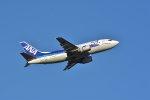 ちどりんさんが、福岡空港で撮影したANAウイングス 737-54Kの航空フォト(飛行機 写真・画像)