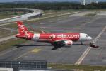 matsuさんが、クアラルンプール国際空港で撮影したエアアジア A320-251Nの航空フォト(飛行機 写真・画像)