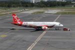 matsuさんが、クアラルンプール国際空港で撮影したエアアジア A320-216の航空フォト(飛行機 写真・画像)