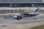 matsuさんが、クアラルンプール国際空港で撮影したマレーシア航空 737-8H6の航空フォト(飛行機 写真・画像)
