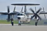 チポさんが、三沢飛行場で撮影した航空自衛隊 E-2C Hawkeyeの航空フォト(飛行機 写真・画像)