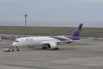 kuro2059さんが、中部国際空港で撮影したタイ国際航空 A350-941XWBの航空フォト(飛行機 写真・画像)
