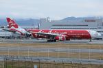 板付蒲鉾さんが、福岡空港で撮影したエアアジア・エックス A330-343Xの航空フォト(飛行機 写真・画像)