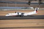kumagorouさんが、仙台空港で撮影したワールドワイド・エアクラフト・フェリーイング DHC-8-402Q Dash 8の航空フォト(飛行機 写真・画像)