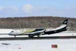 モモさんが、新千歳空港で撮影したグァンフィ ERJ-190-100 ECJ (Lineage 1000)の航空フォト(飛行機 写真・画像)