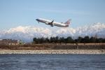 イソロクガトブさんが、富山空港で撮影したチャイナエアライン 737-8ALの航空フォト(飛行機 写真・画像)