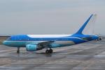 なごやんさんが、中部国際空港で撮影した東方公務航空 A318-112 CJ Eliteの航空フォト(飛行機 写真・画像)
