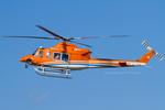 Scotchさんが、名古屋飛行場で撮影した新日本ヘリコプター 412EPの航空フォト(飛行機 写真・画像)