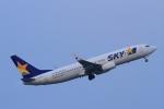 K.Tさんが、羽田空港で撮影したスカイマーク 737-86Nの航空フォト(飛行機 写真・画像)