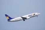 K.Tさんが、羽田空港で撮影したスカイマーク 737-81Dの航空フォト(飛行機 写真・画像)