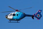 Scotchさんが、名古屋飛行場で撮影した中日新聞社 EC135P2の航空フォト(飛行機 写真・画像)