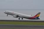 kuro2059さんが、中部国際空港で撮影したアシアナ航空 A321-231の航空フォト(飛行機 写真・画像)