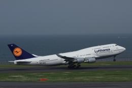 K.Tさんが、羽田空港で撮影したルフトハンザドイツ航空 747-430の航空フォト(飛行機 写真・画像)