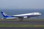 K.Tさんが、羽田空港で撮影した全日空 777-281の航空フォト(飛行機 写真・画像)