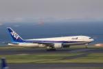 K.Tさんが、羽田空港で撮影した全日空 777-281/ERの航空フォト(飛行機 写真・画像)