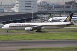 BOEING737MAX-8さんが、羽田空港で撮影したシンガポール航空 777-312/ERの航空フォト(飛行機 写真・画像)