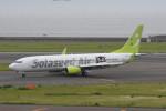 kuro2059さんが、中部国際空港で撮影したソラシド エア 737-86Nの航空フォト(飛行機 写真・画像)